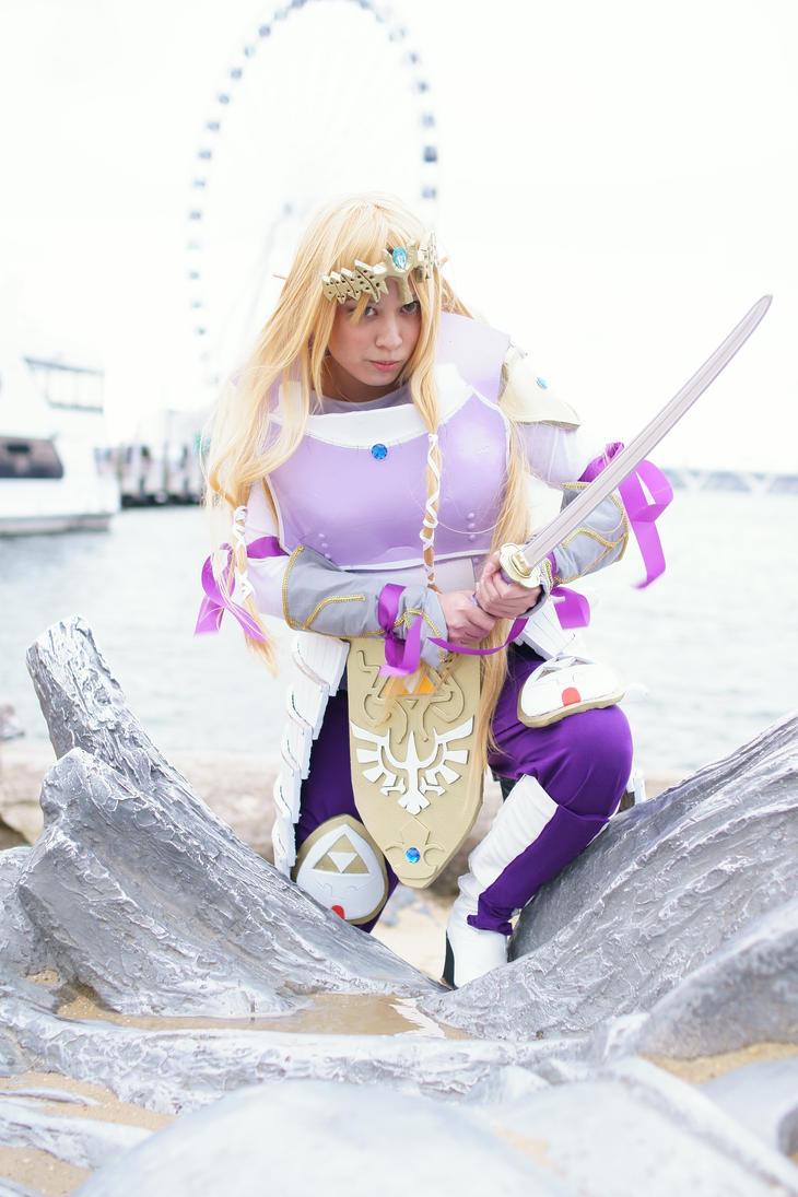 Samurai Zelda by AloraPhacia