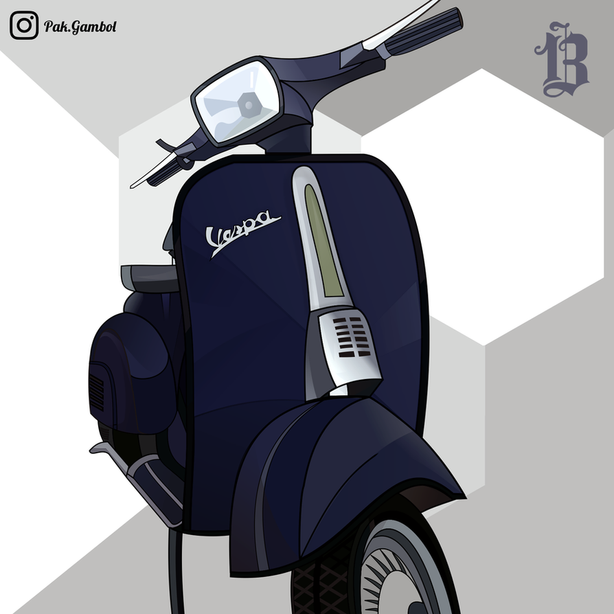 Vespa Vector Free Download | www.imgkid.com - The Image ...