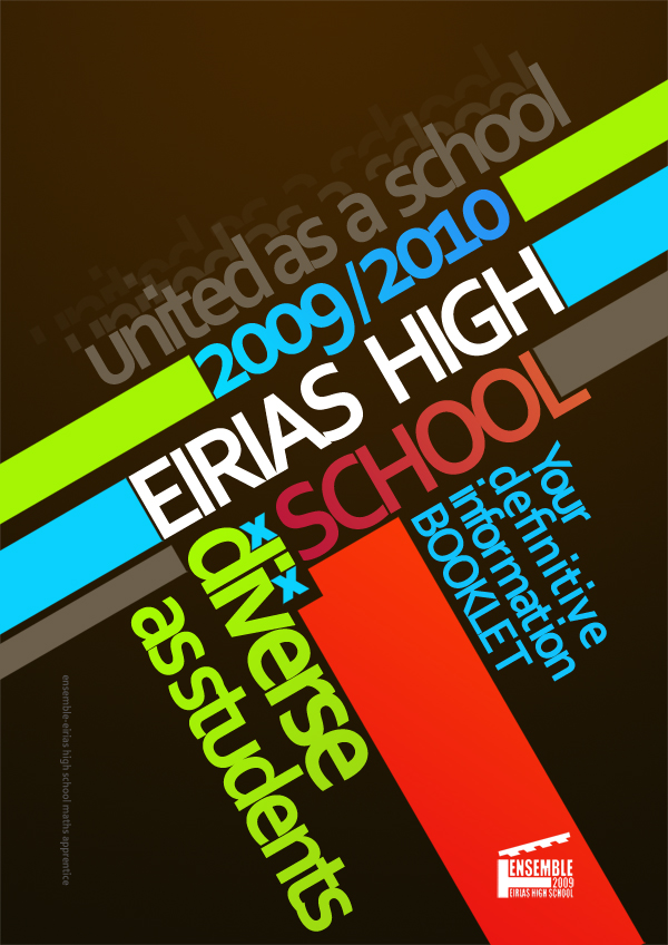 Eirias Brochure Idea by SJROBZY