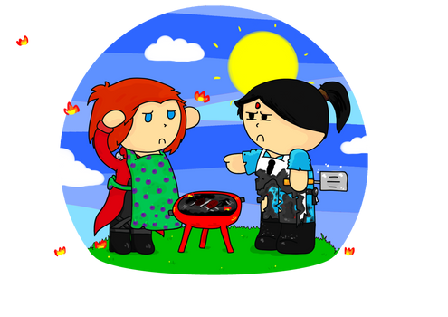 How Not to Use a BBQ