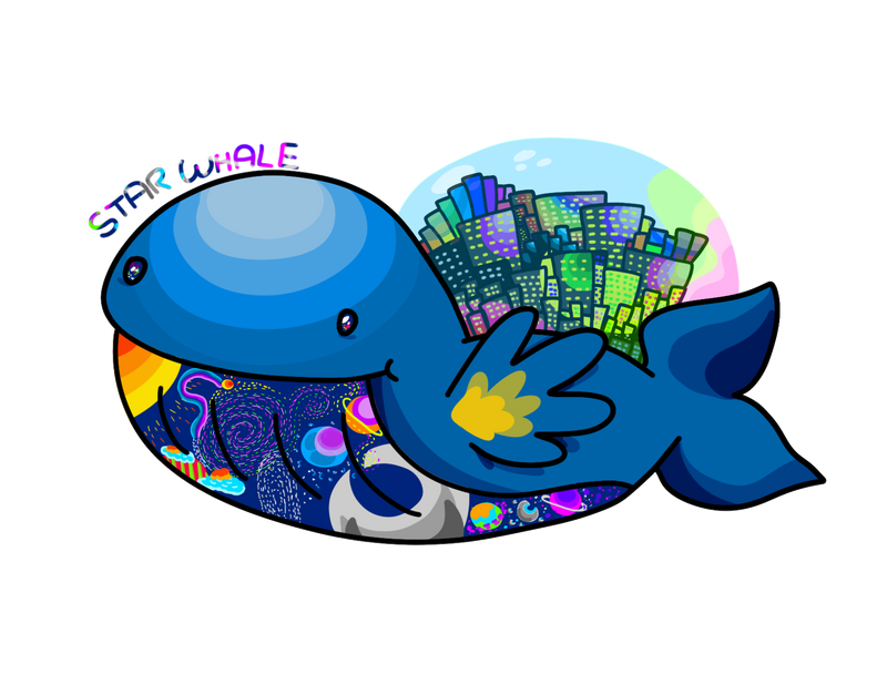 Star Whale by FunkySockzLover