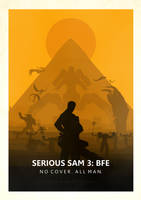 Serious Sam 3 Minimalistic Poster by FreekNik
