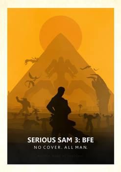 Serious Sam 3 Minimalistic Poster