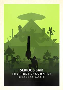 Serious Sam TFE Minimalistic Poster