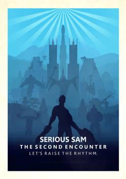 Serious Sam TSE Minimalistic Poster