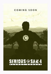 Serious Sam 4: Planet Badass - Coming Soon Poster by FreekNik