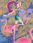 Roxy Flamingo Fairy