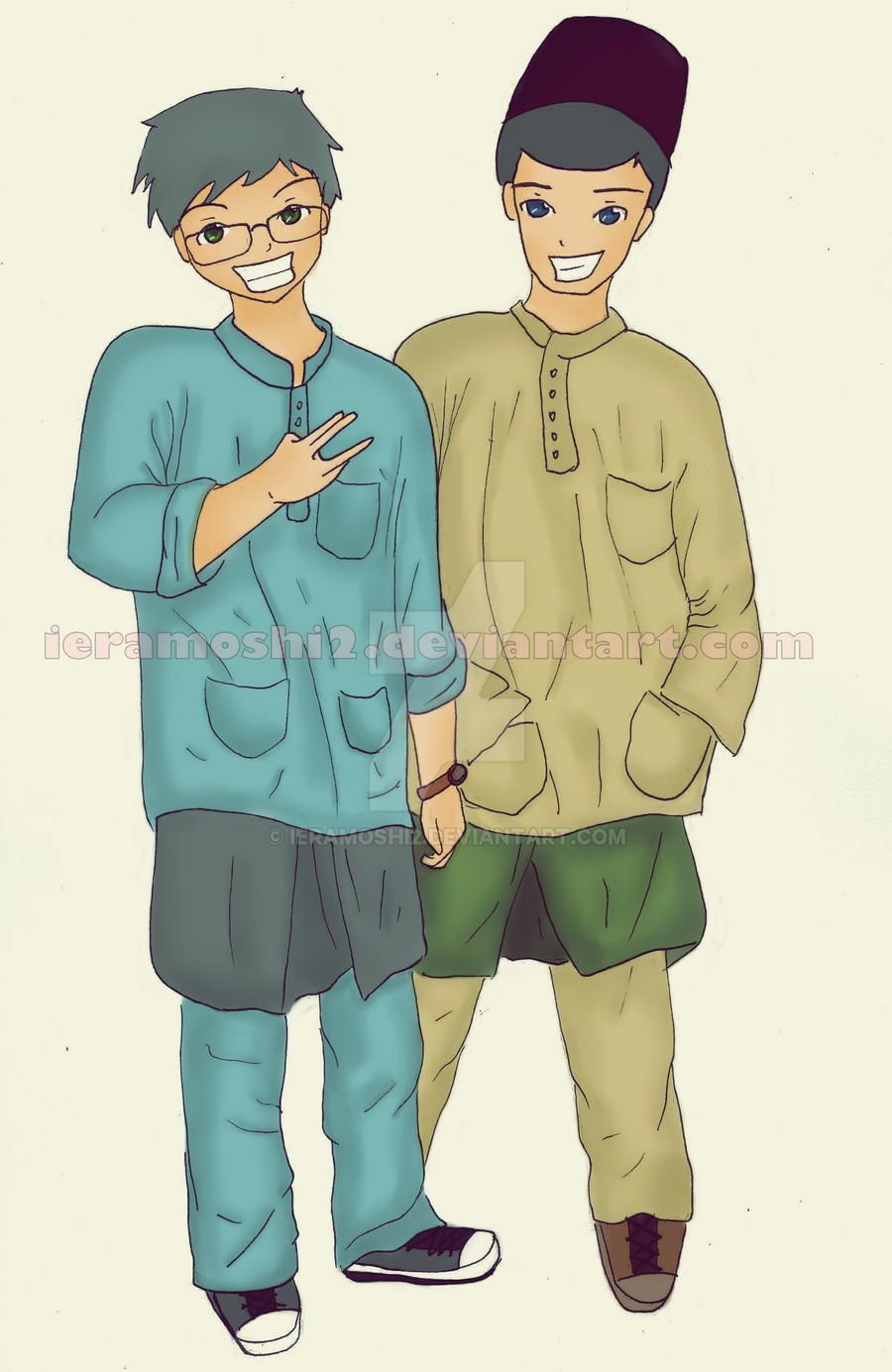 Baju Melayu by ieramoshi2