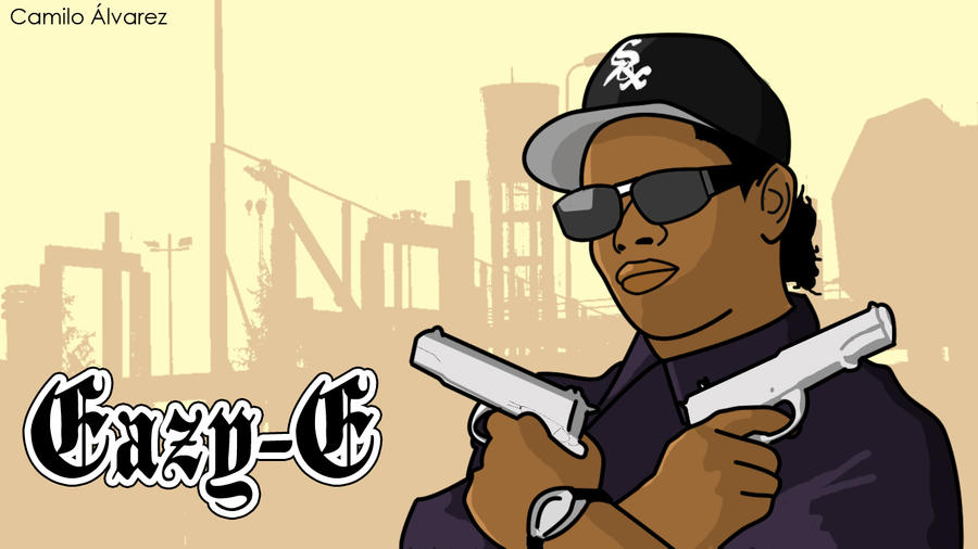 Eazy E Cartoon: Eazy-E By Me. By 777campe On DeviantArt