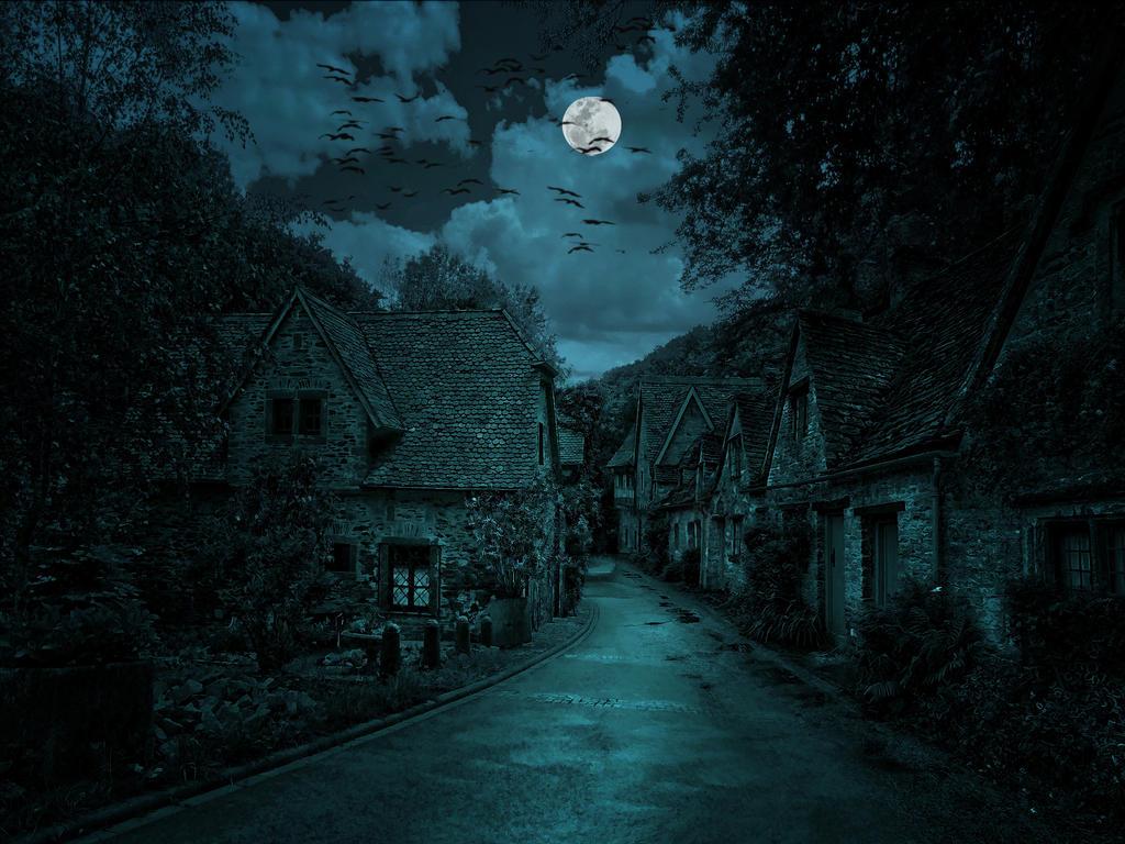 The Dark Village by Nacho3