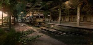 Abandoned Train Station 2