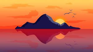 Flat Landscape Practice #2 - The Island