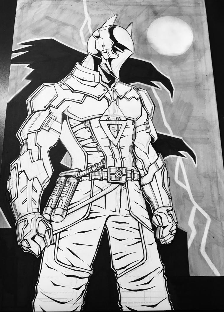 The Arkham Knight by kar123