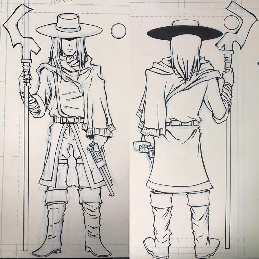 Geraci Cowboy Wizard by kar123