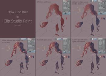 step by step Hair by ZuzoHyuu