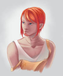 MCL sketch portrait by ZuzoHyuu