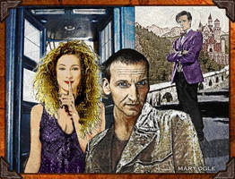 River Song and the Doctors - BIrthday by evisionarts
