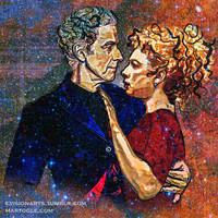 River Song and the Twelfth Doctor - Starry Night by evisionarts