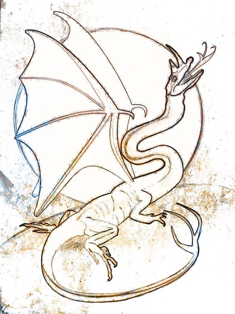 Building a Dragon by evisionarts