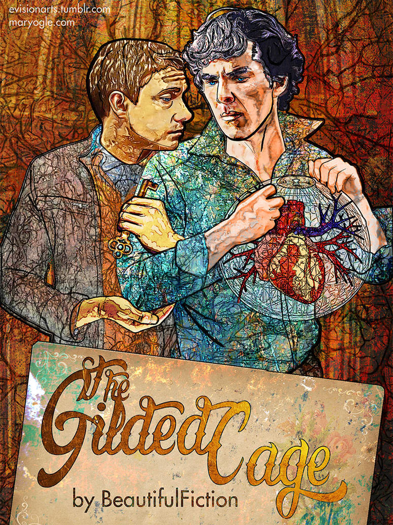Sherlock Holmes: The Gilded Cage Cover by evisionarts