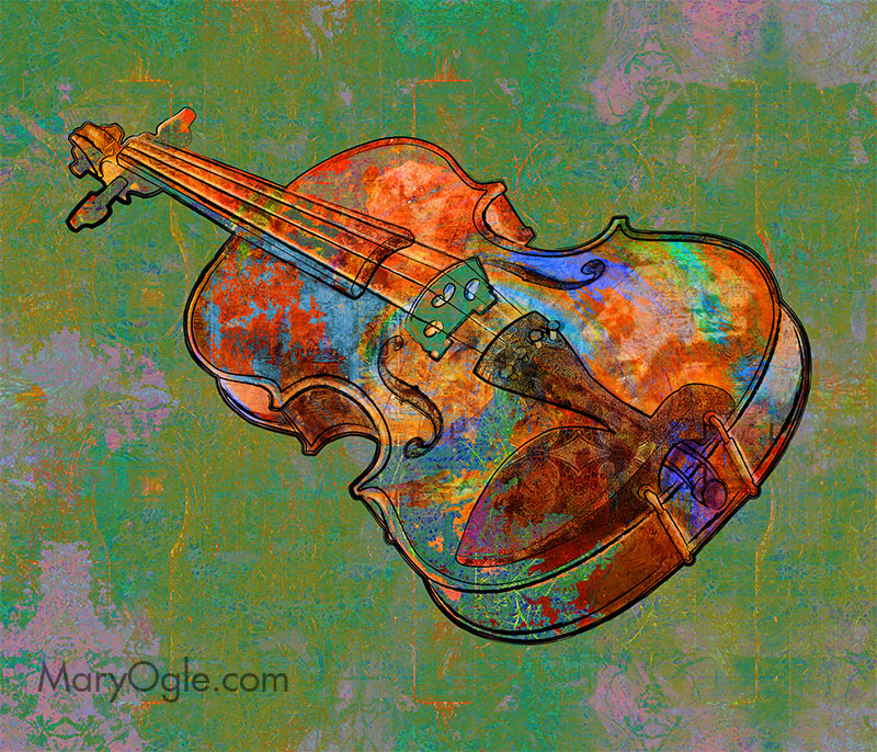 Violin by evisionarts