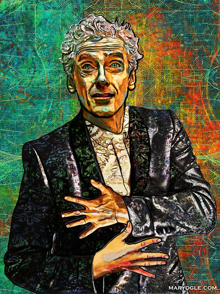 Twelfth Doctor by evisionarts