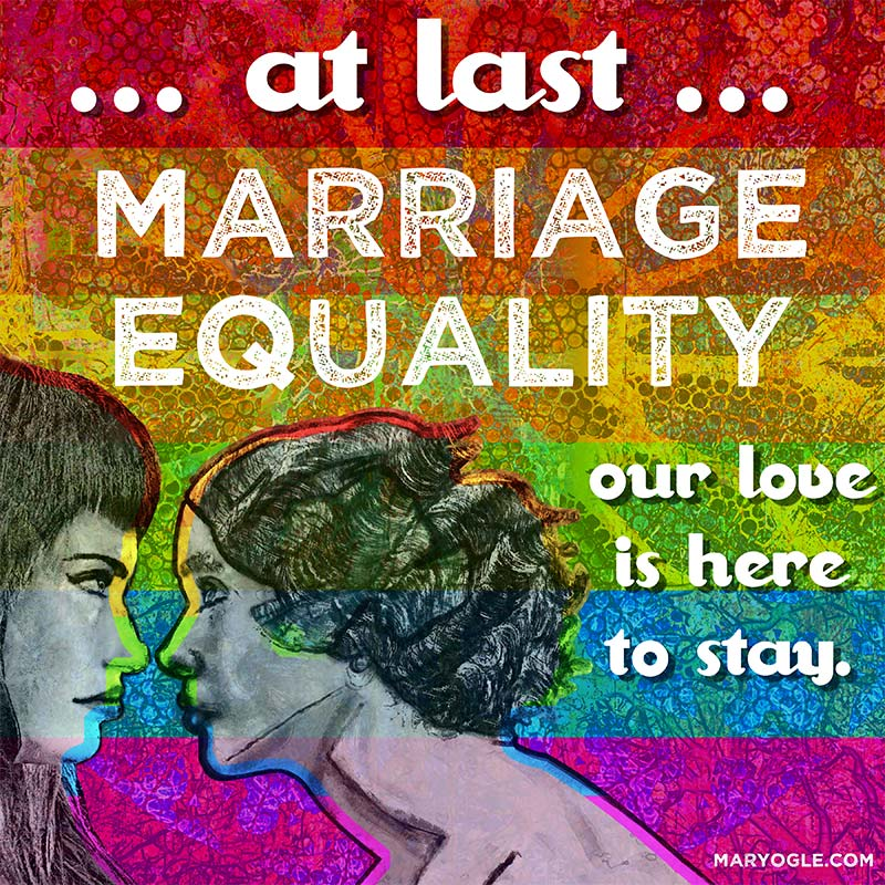 Marriage Equality by evisionarts