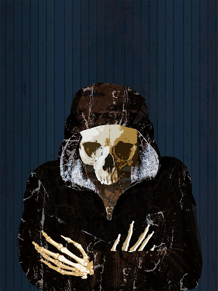 Skull Book Cover by evisionarts
