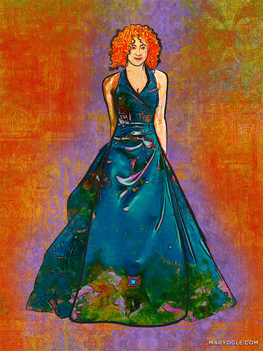 Holiday Party River Song by evisionarts