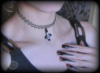 Satanic Inverted Cross by Taira2032