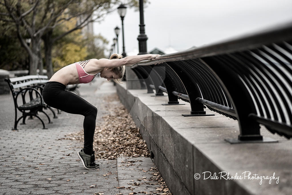 Marisa Fitness in NYC by DalePhotography
