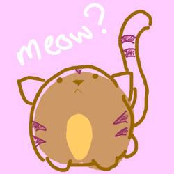 Meow ? by kittycatplz