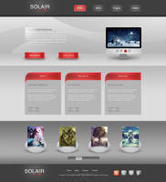 Solair Media - Portfolio by Czarny-Design