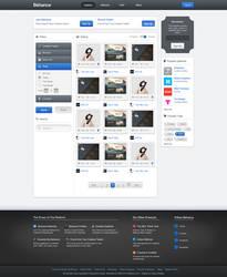 Behance.net - Redesign