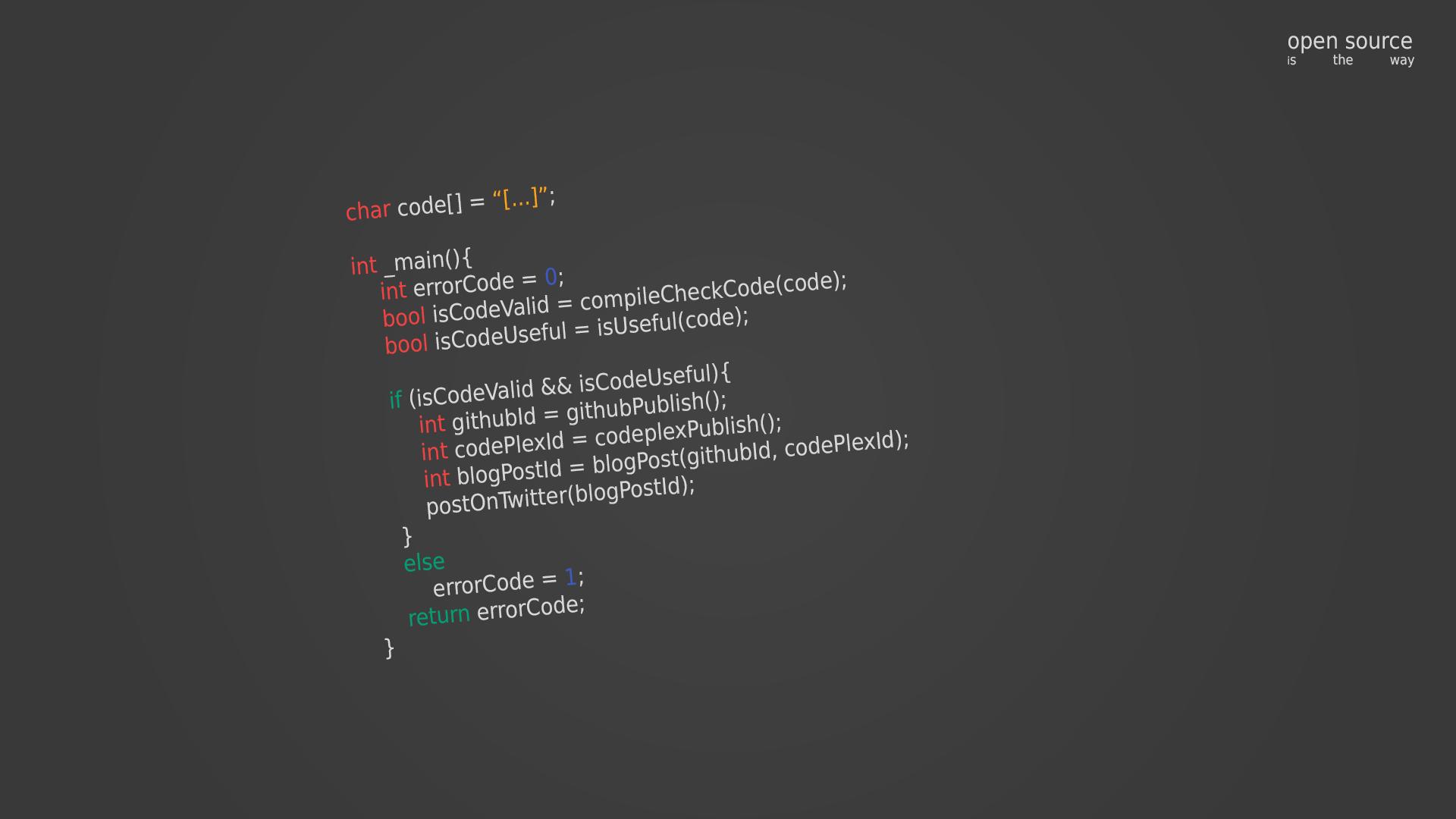 Open-Source Wallpaper (1920x1080) by james-egan-root on ...
