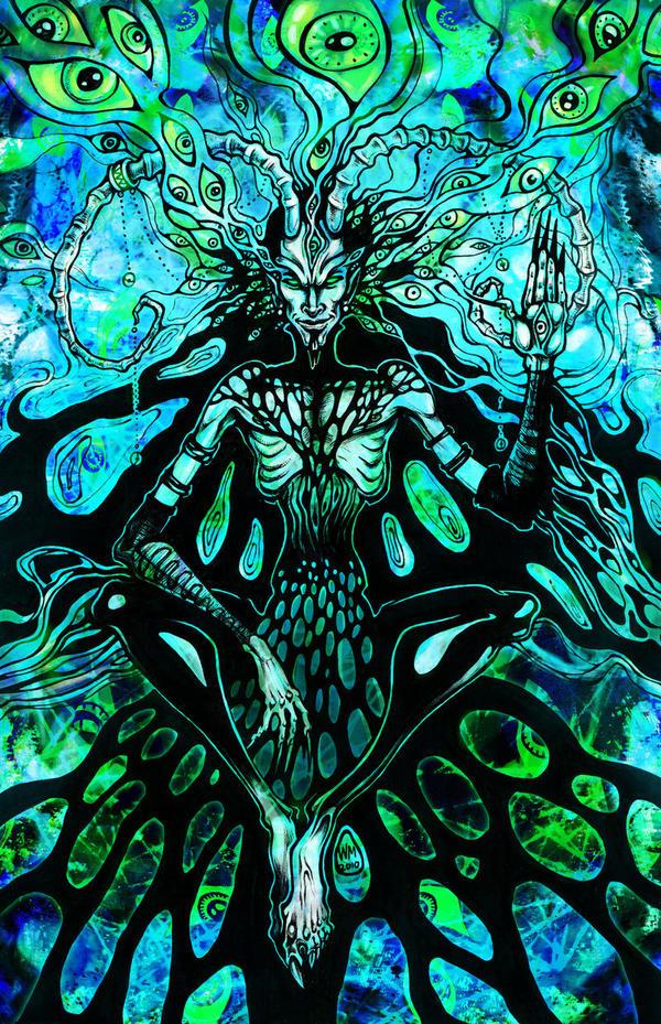 Demonic Dark Trip by LimbicSplitter on DeviantArt