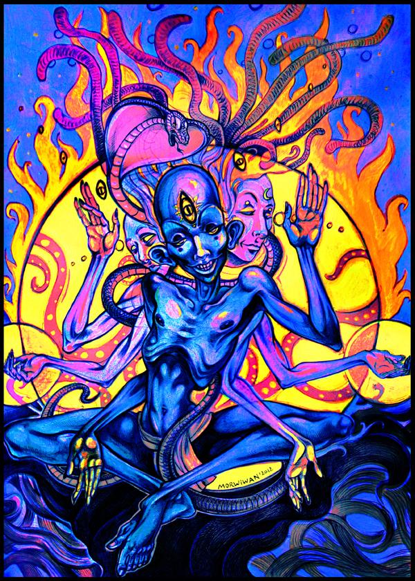 Om Namaha Shivaya by LimbicSplitter