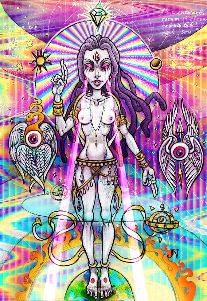 Cosmological Sophia by LimbicSplitter