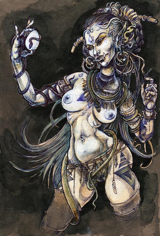 Troll Witch by LimbicSplitter