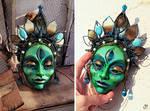 Matangi Green Devi  Mask