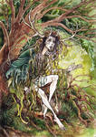 Horned Druidess
