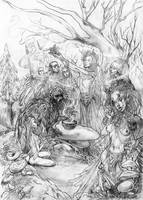 Sacred Grove Feast by LimbicSplitter