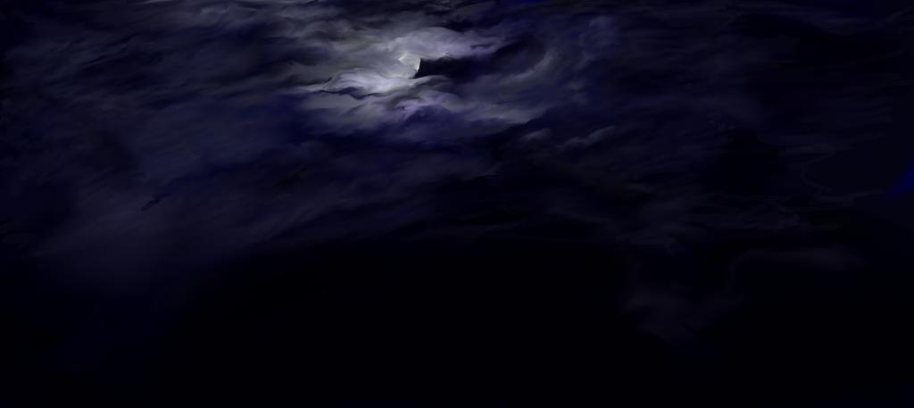 Full Moon WIP by AutumnCalluna