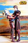 Ahsoka Tano and Anakin Skywalker