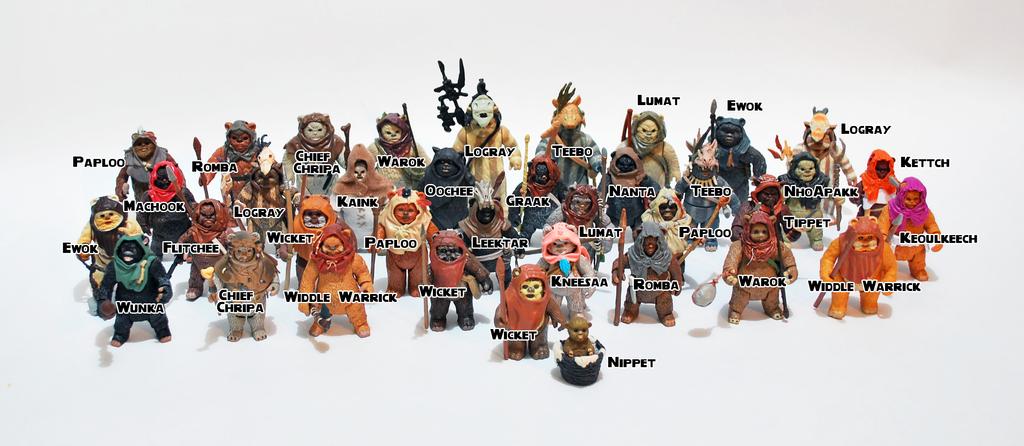 Ewoks action figures on ewoksofendor deviantart - Ewok wallpaper ...