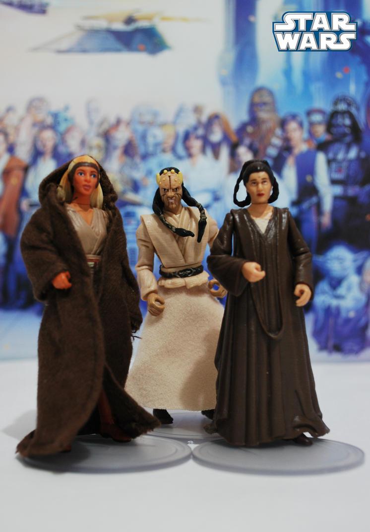 Star wars high jedi council by robsola