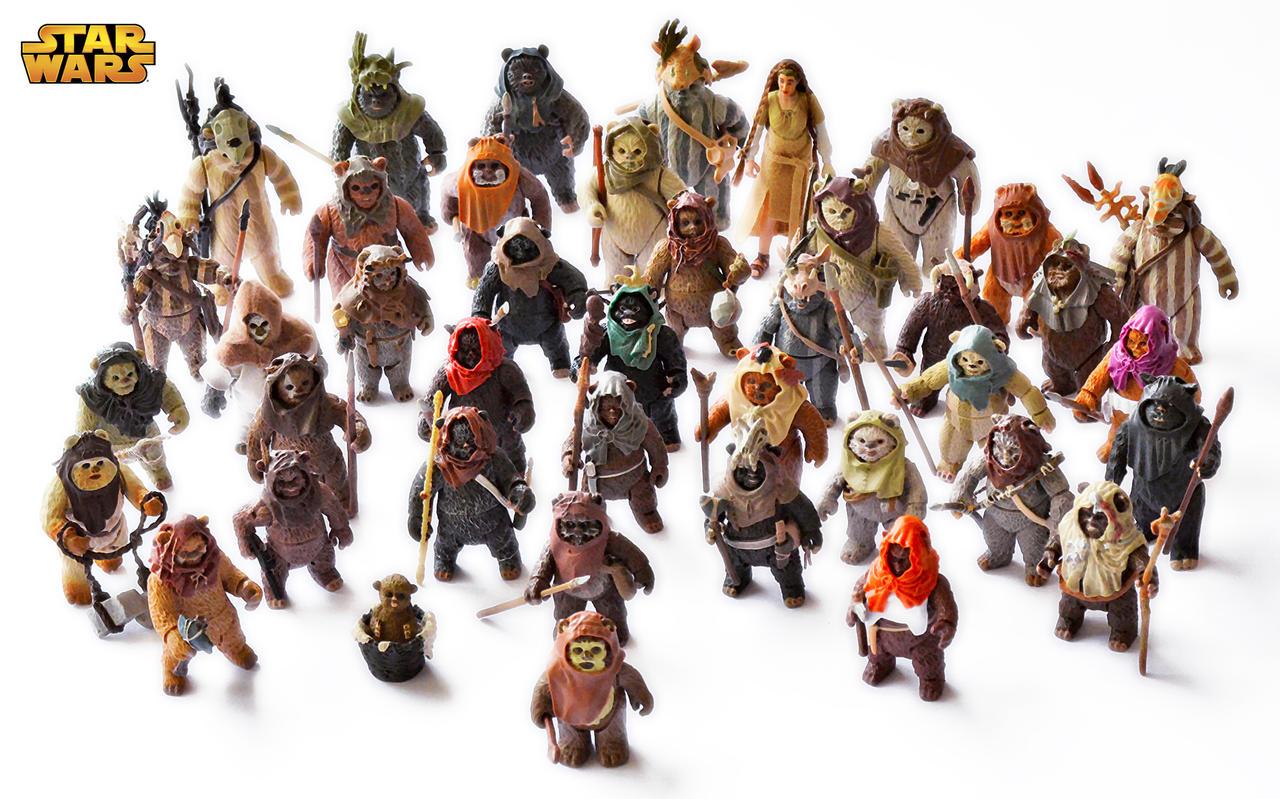 Ewoks by robsola on deviantart - Ewok wallpaper ...