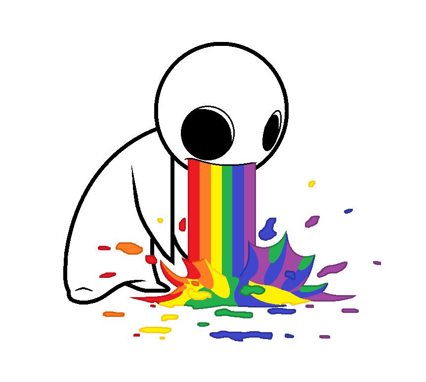 Puke Rainbows Asdf Cut...