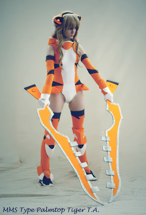 Palmtop Tiger T.A. by Tenori-Tiger