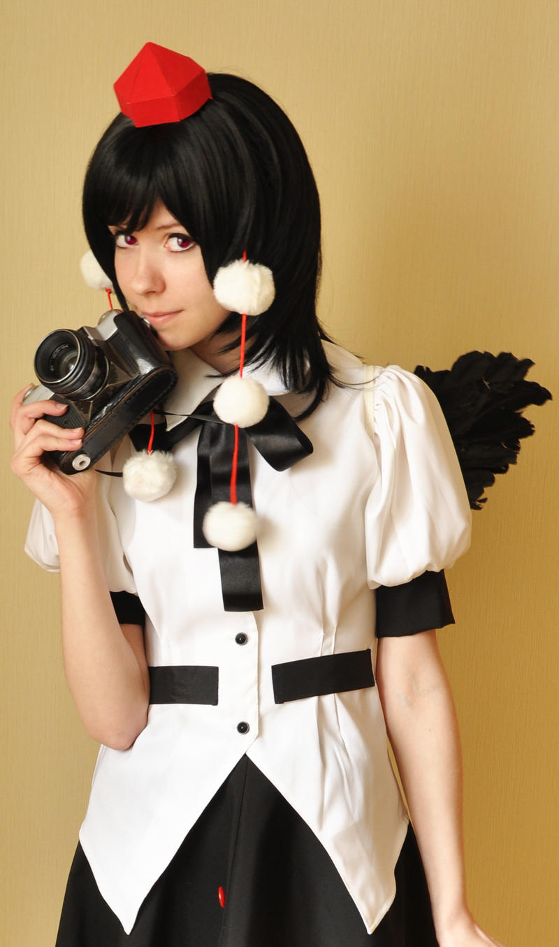 Aya Shameimaru cosplay II by Tenori-Tiger
